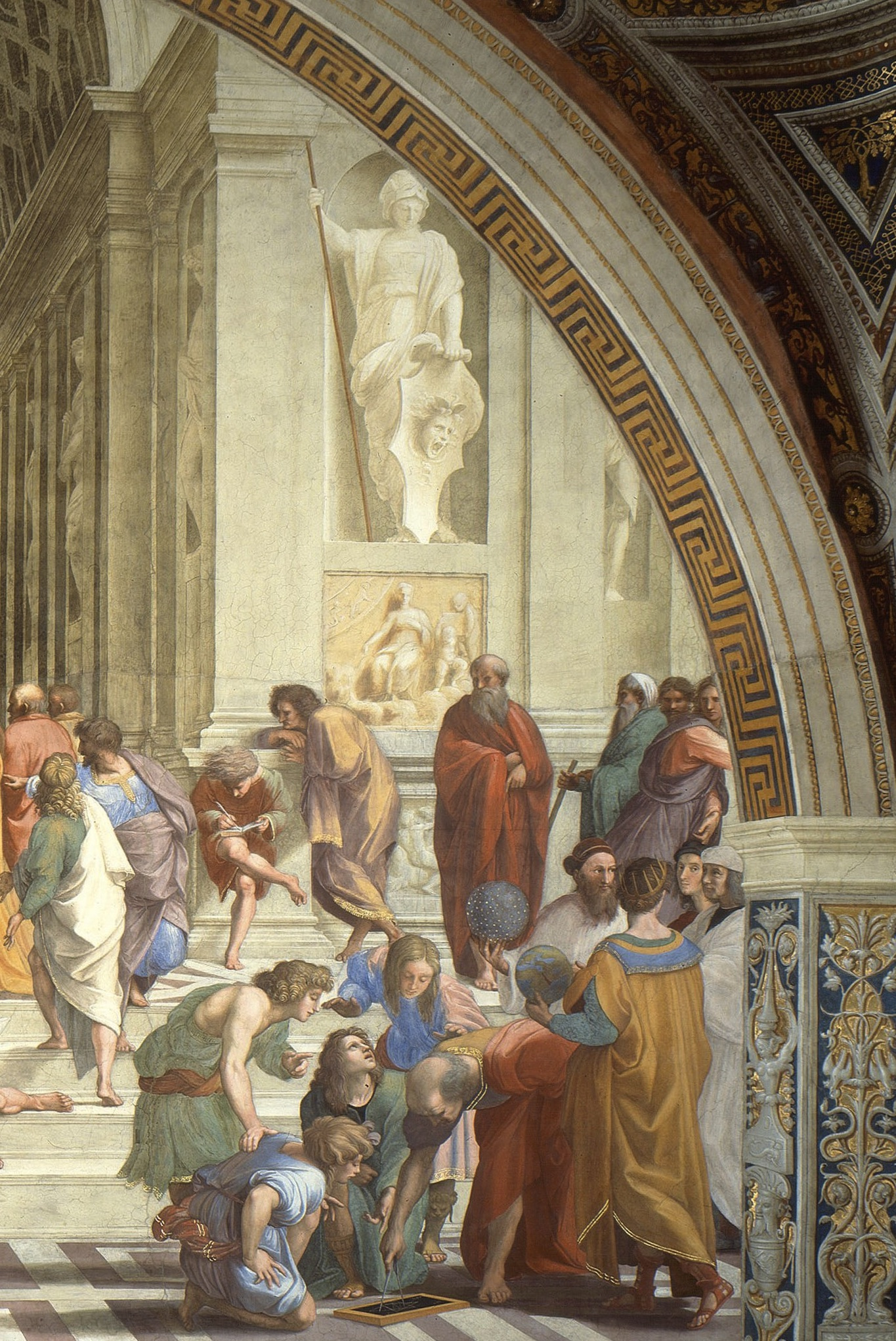analysis of the school of athens by raphael essay School of athens essay 2 comments the school of athens here is the group essay: raphael's school of athens typifies the ideals of the high renaissance in a.