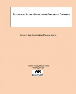 Defense and Security Budgeting in Democratic Countries